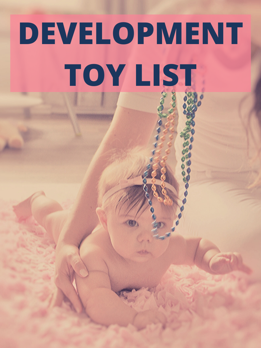 Baby Development Toy List - Pediatric Physical Therapy