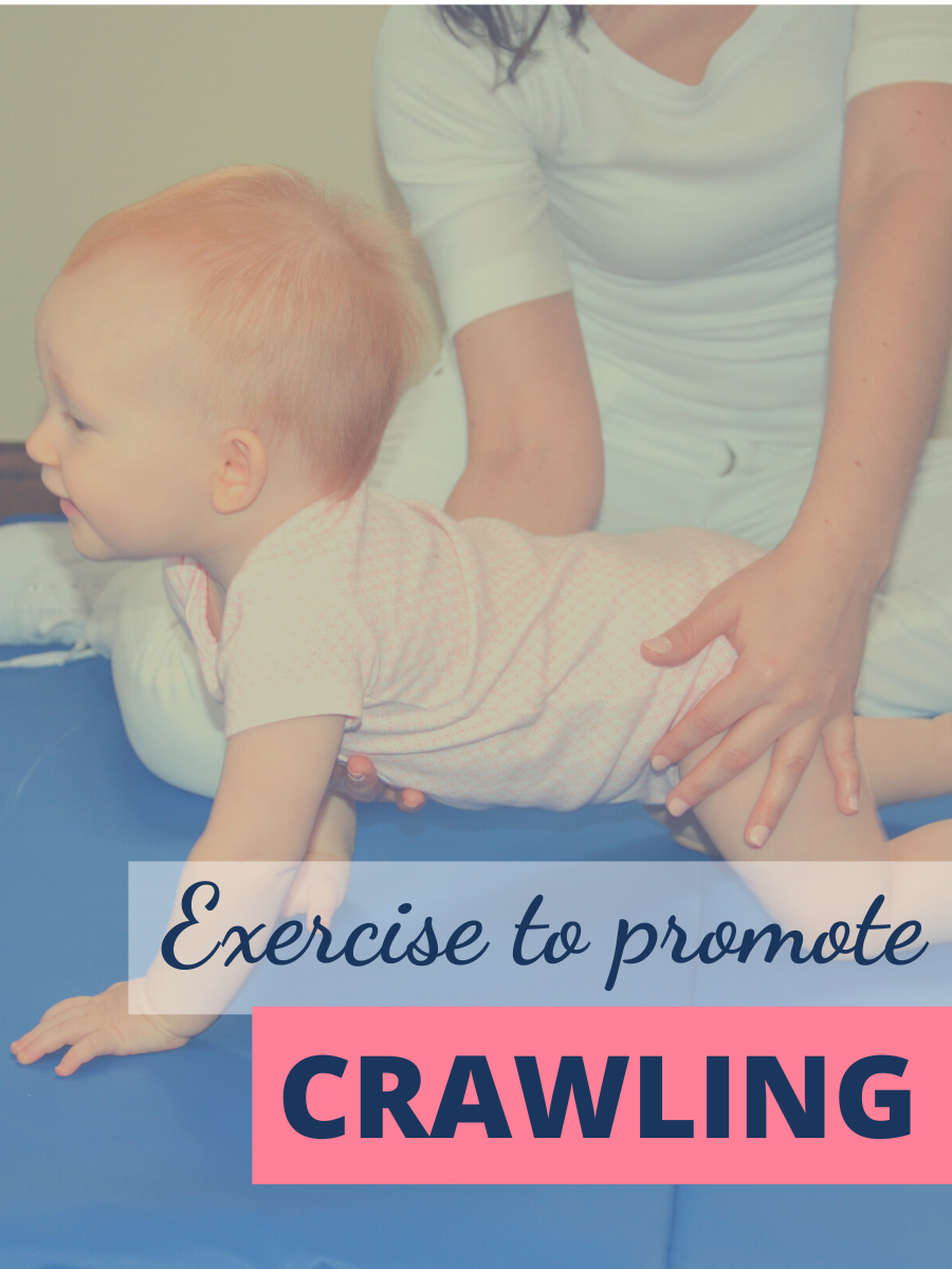 Excercise to Promote Crawling - Pediatric Physical Therapy